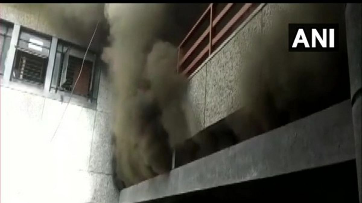 Maharashtra: Massive fire breaks out at Nashik Municipal Corporation headquarters, no casualties