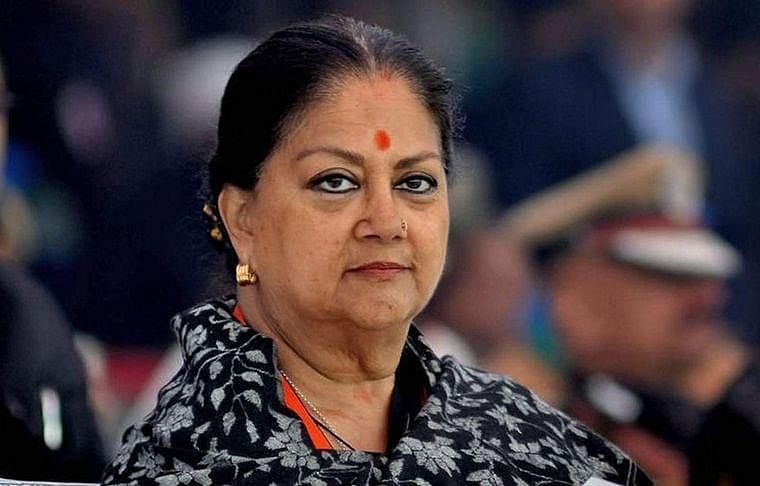Rajasthan: Vasundhara Raje breaks from party line, calls for unity in fighting COVID-19