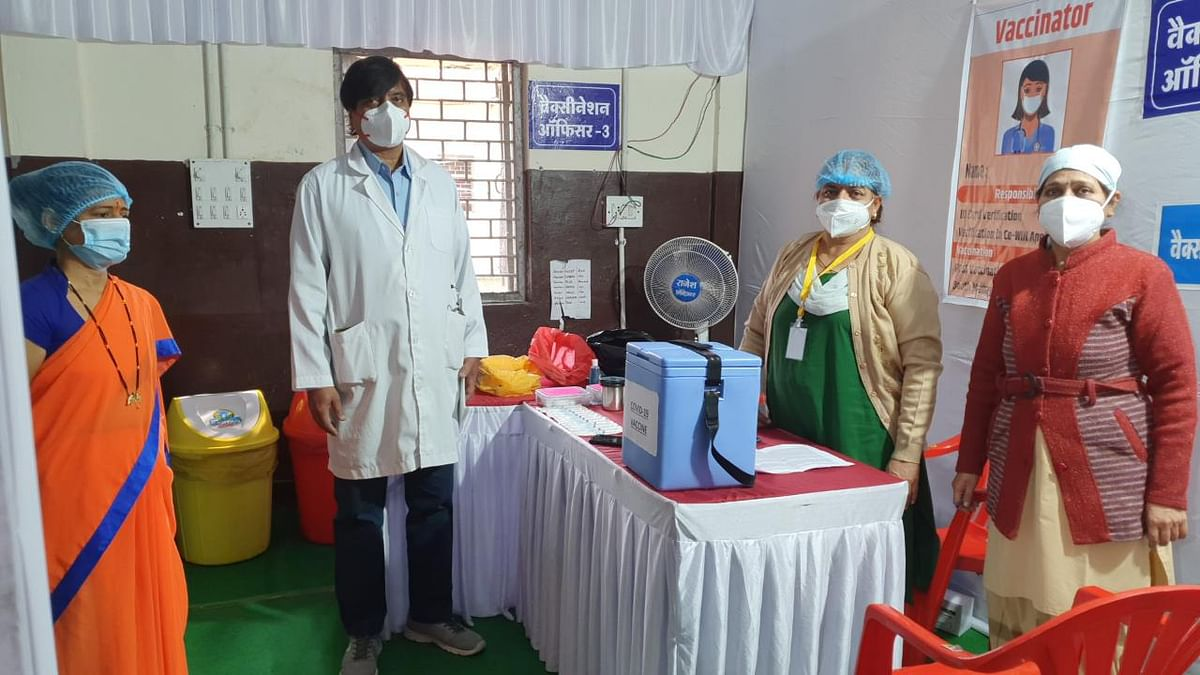 Operators and nodal officer all set for vaccination at ESIC hospital