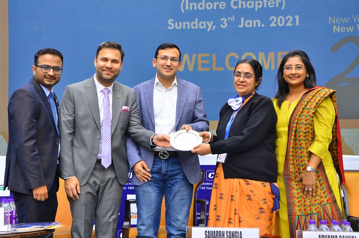   Indore: Young Indians' work during Covid applauded during 14th annual session