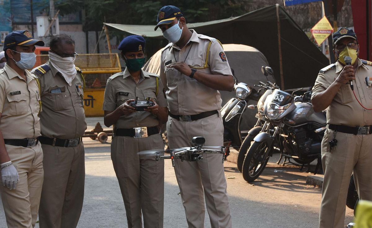 Mumbai Police plan 45 drone eyes to monitor city traffic