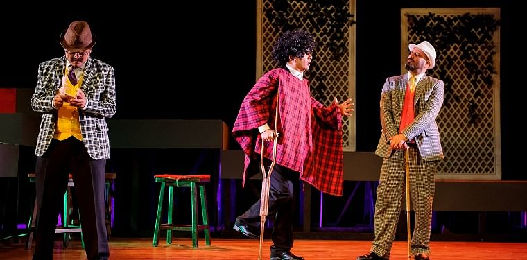 Actor-director Akash Khurana talks about the digital makeover of his play The Hound of the Baskervilles