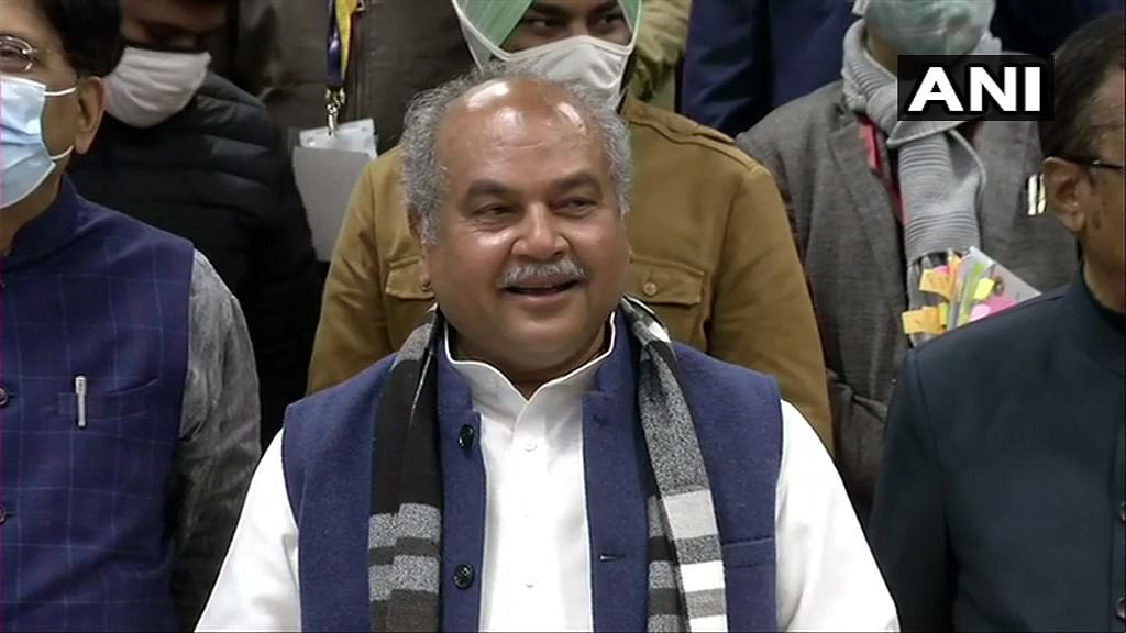 'May find a resolution on Jan 22': Agriculture Minister Narendra Tomar says talks with farmers are 'progressing in the right direction'