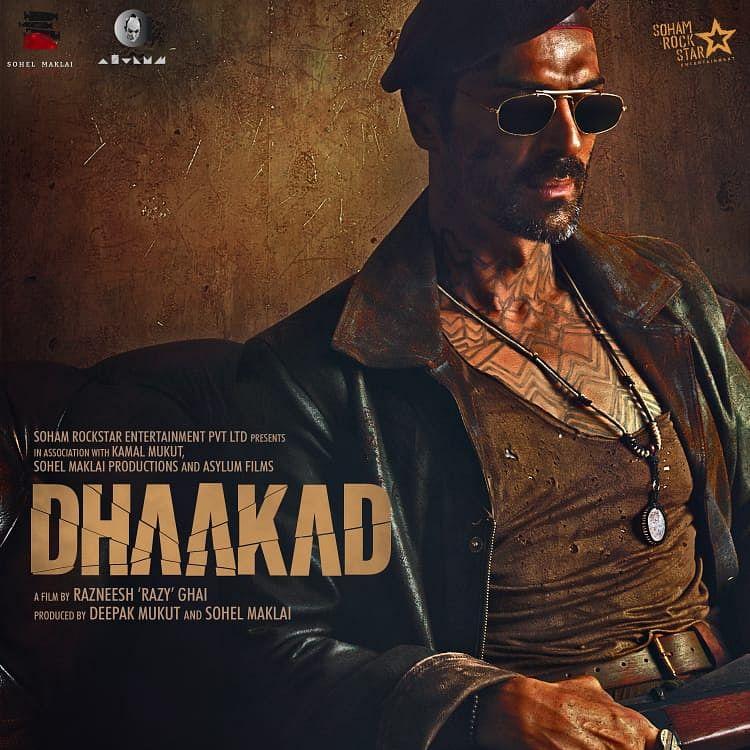 FIRST LOOK: Arjun Rampal to play antagonist Kagana Ranaut's 'Dhaakad'