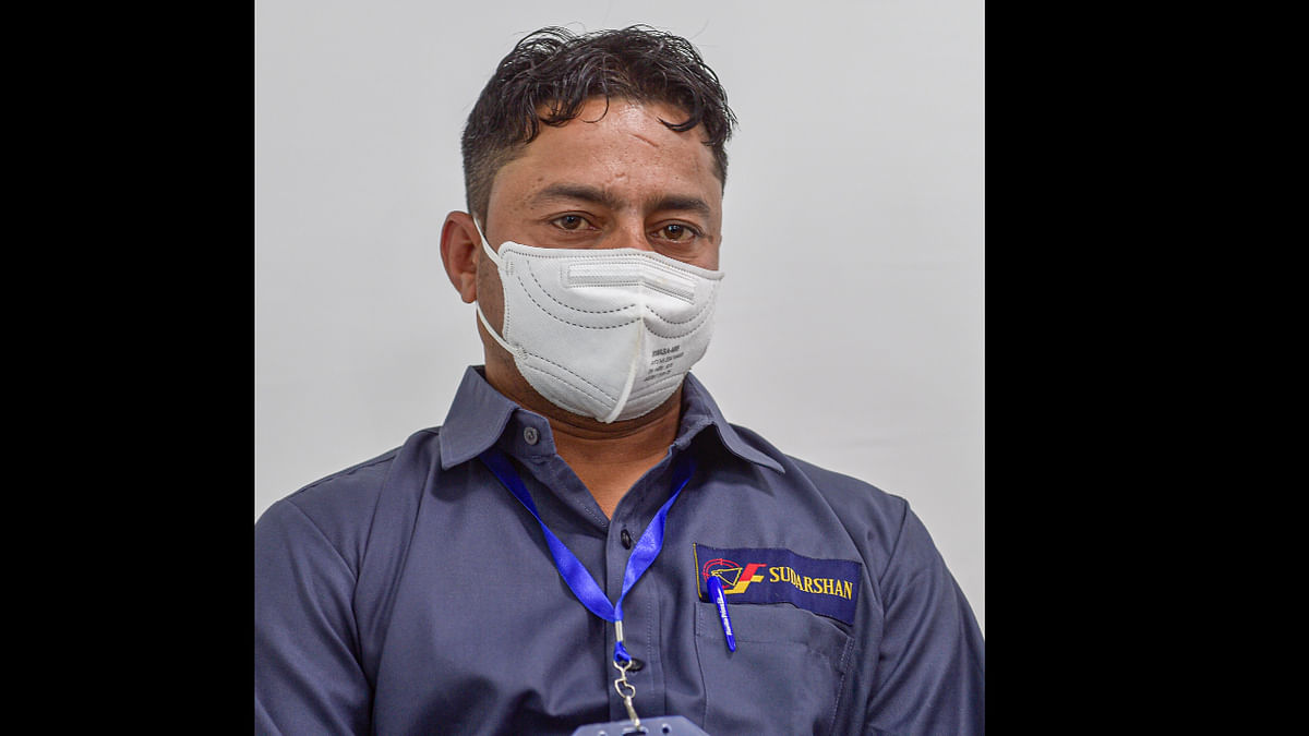 AIIMS Delhi sanitation worker Manish Kumar becomes India's first COVID-19 vaccine recipient