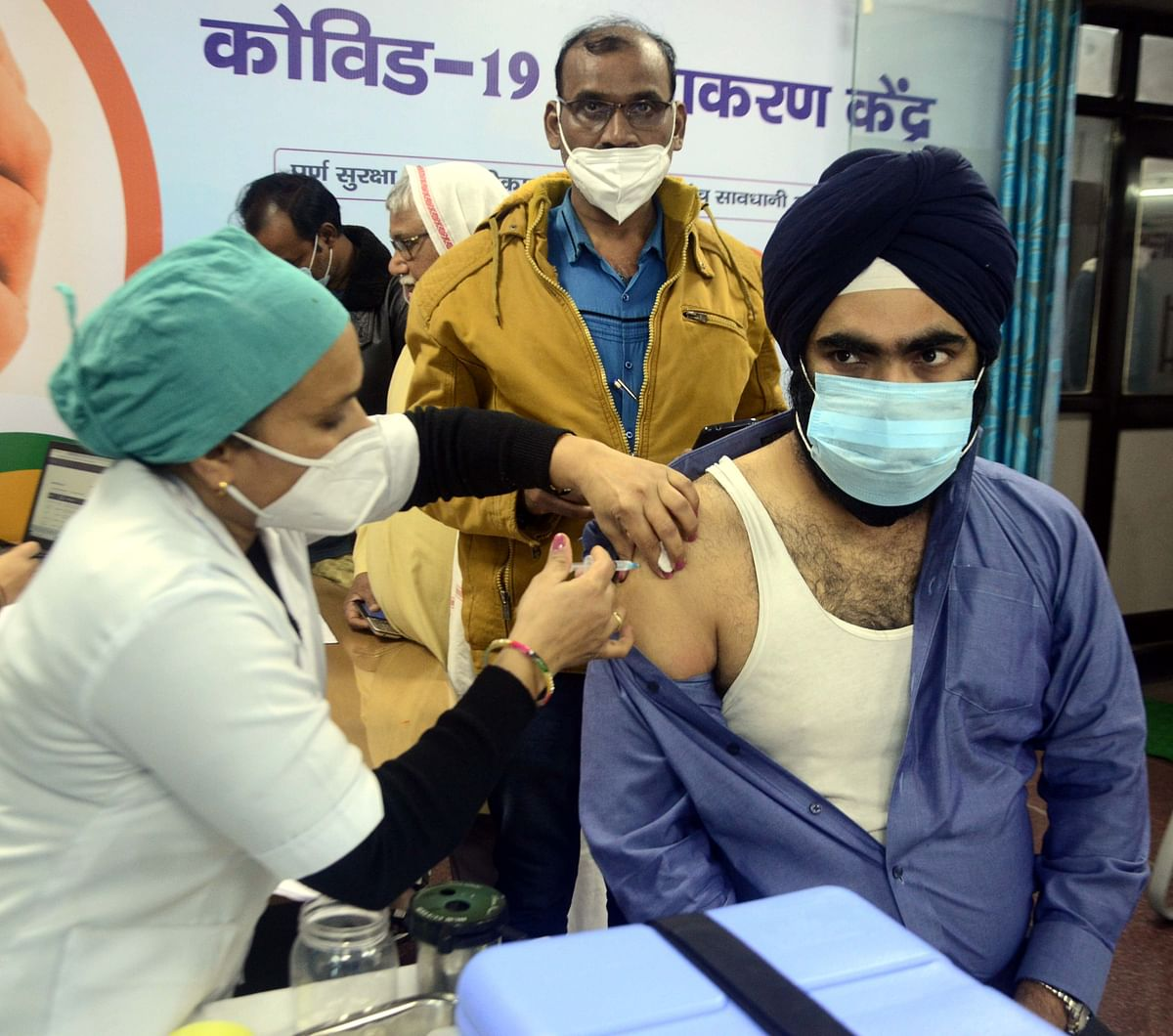 COVID-19 in Navi Mumbai: CIDCO joins hand in vaccination drive, starts at Ulwe health centre
