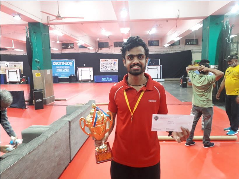 Siddhesh clinches men's title in Dr. Ramesh Prabhoo Memorial 82nd Maharashtra State Table Tennis Championship