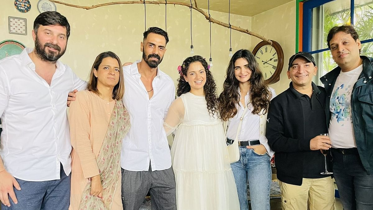 Kangana Ranaut hosts brunch for 'Dhaakad' team; Arjun Rampal also in attendance amid drug probe