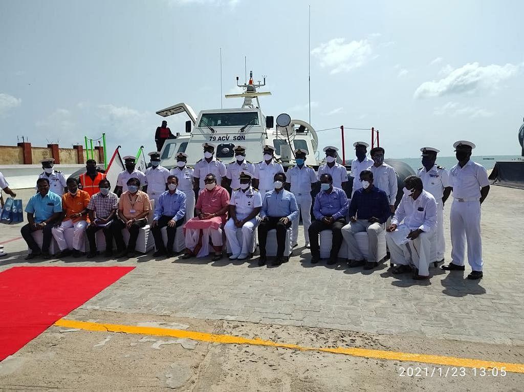 Union Minister Giriraj Singh visits ICAR-CMFRI, Mandapam