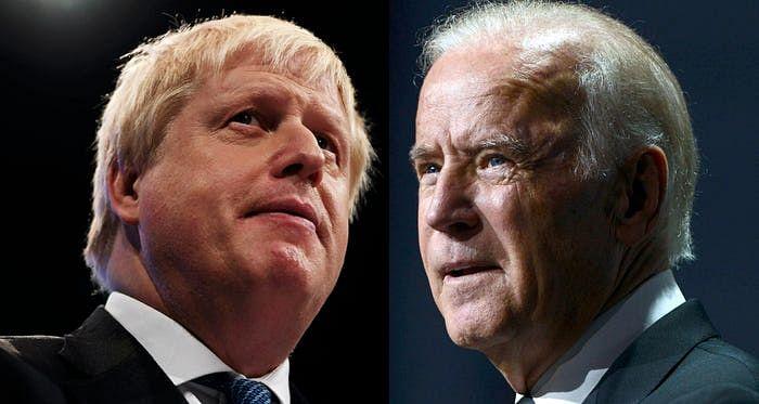 Boris Johnson, Joe Biden affirm commitment to NATO