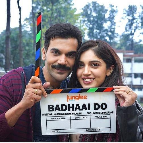 Bhumi Pednekar, Rajkummar Rao start shooting for 'Badhaai Do'