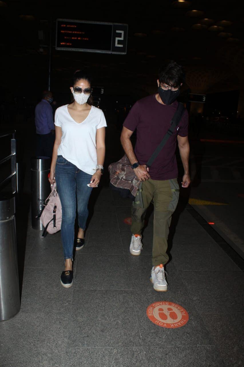In Pics: Shahid Kapoor, wife Mira head to Goa; Rana Daggubati arrives in Mumbai with wife Miheeka Bajaj