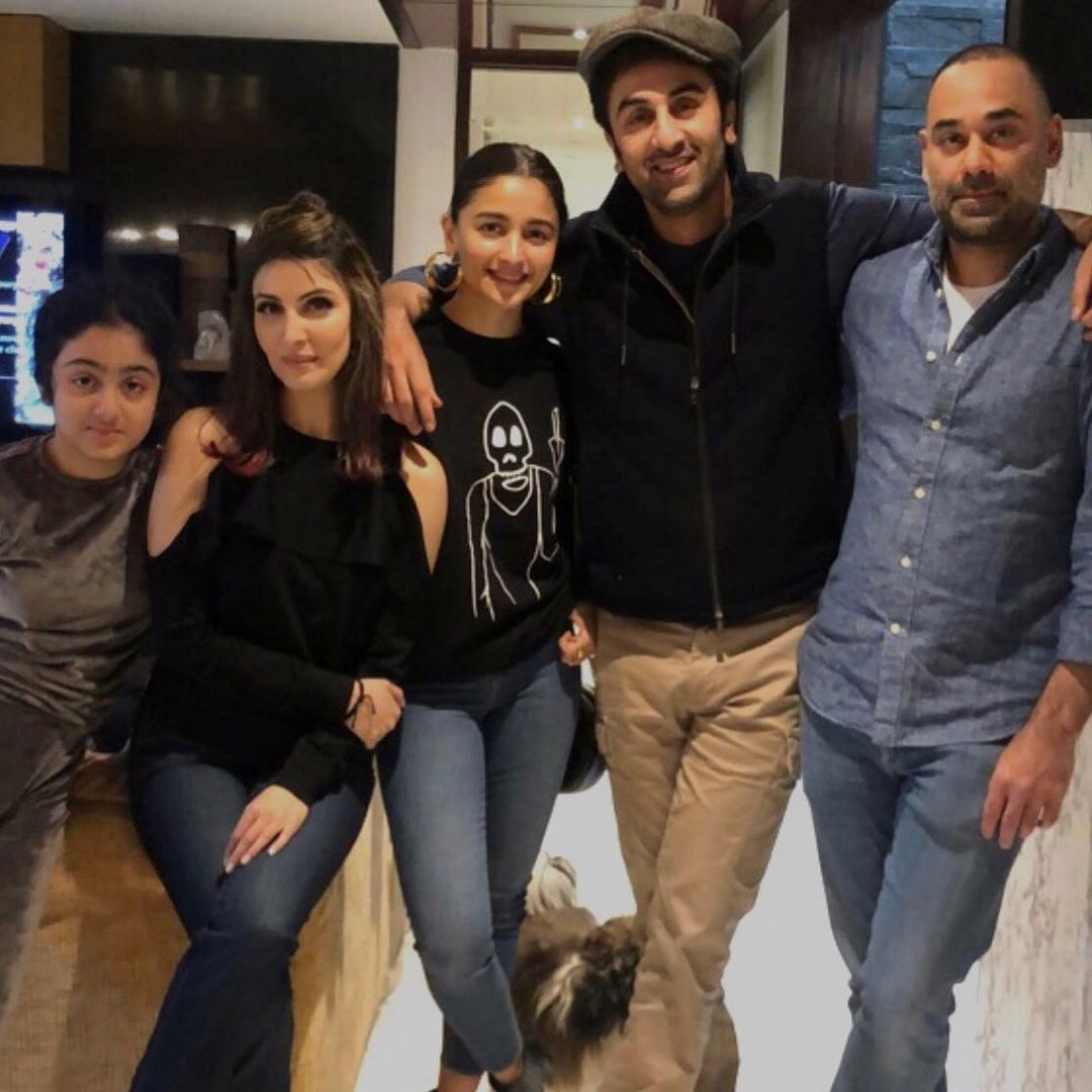 'Fam Jam': Alia Bhatt spends time with beau Ranbir Kapoor, his sister Riddhima Kapoor Sahni in Delhi