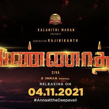 Rajinikanth starrer 'Annaatthe' to release on November 4