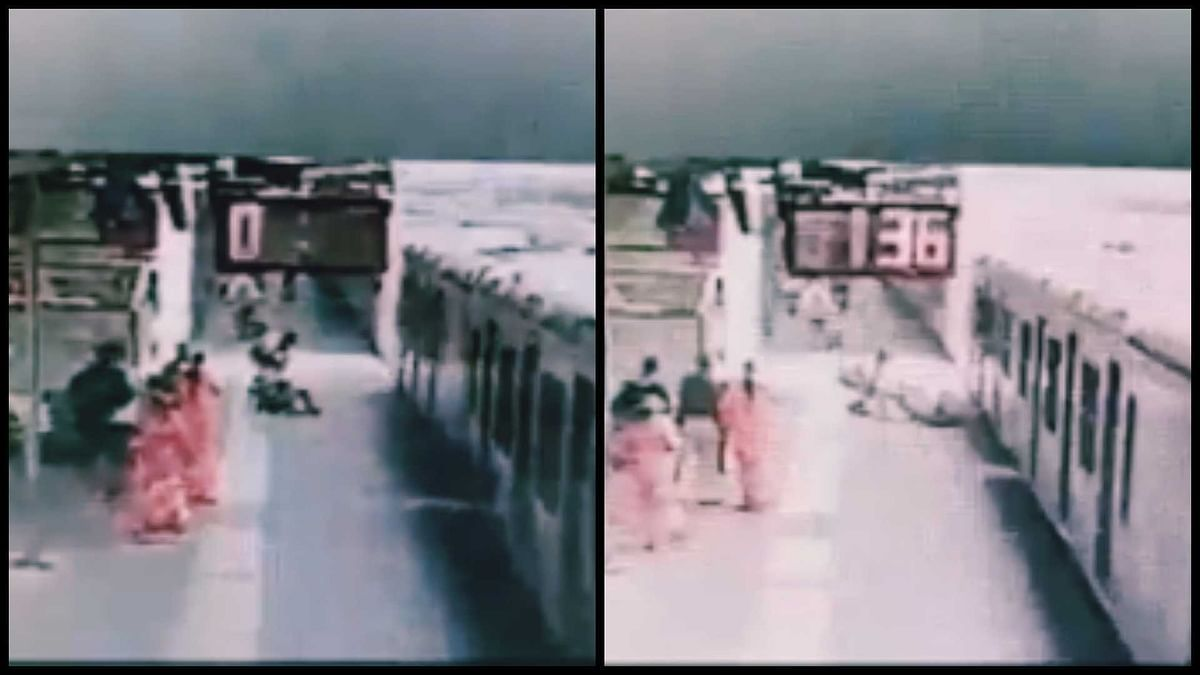 Watch: Alert Mumbai cop comes to man's rescue who slipped while boarding a moving train