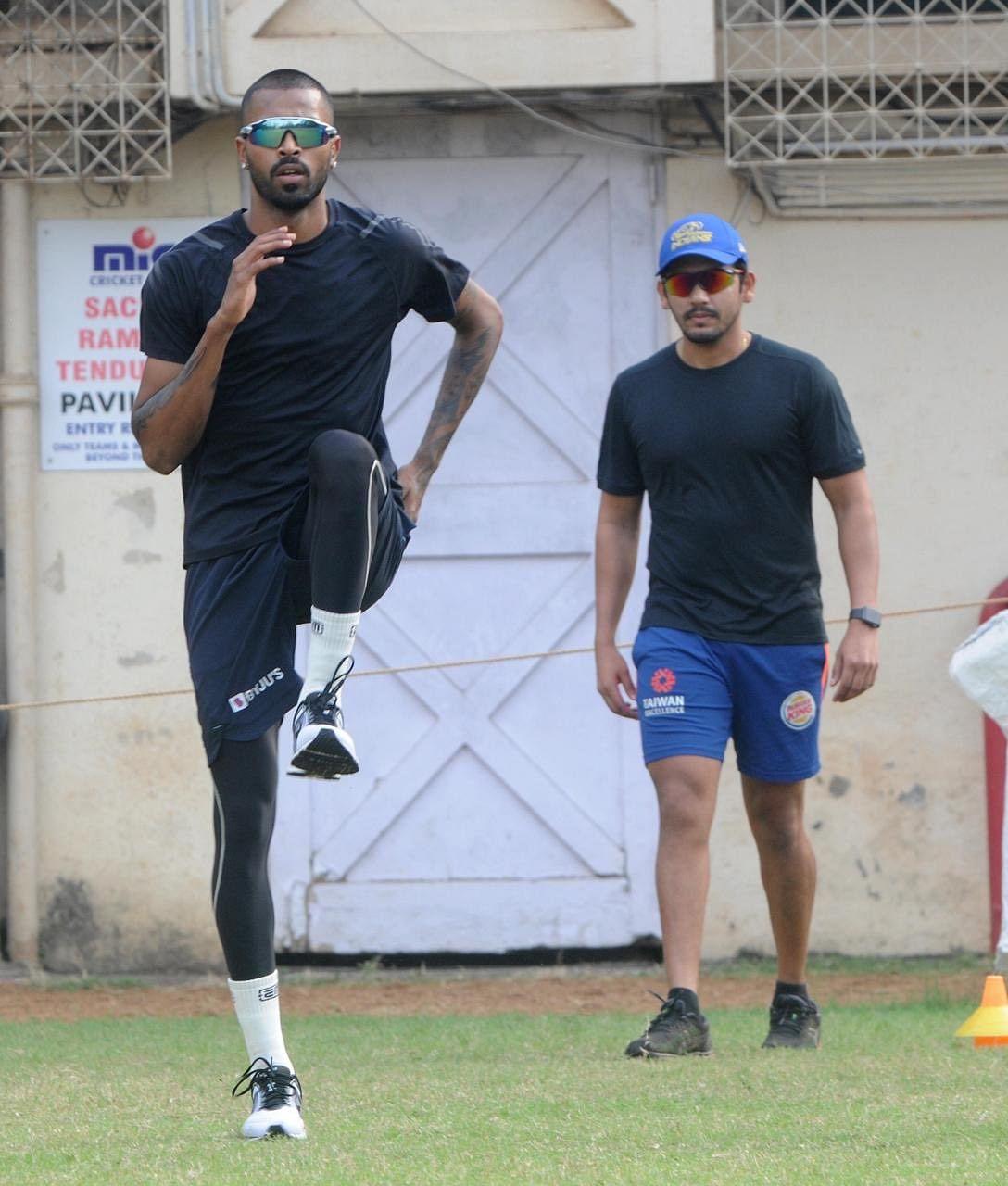 New year, same hustle: All-rounder Hardik Pandya begins New Year with training - see pics