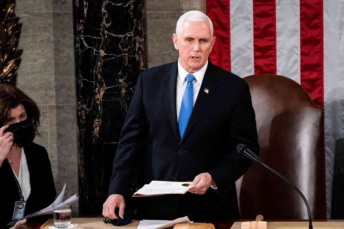 US: Mike Pence refuses to invoke 25th amendment to ensure Donald Trump's ouster
