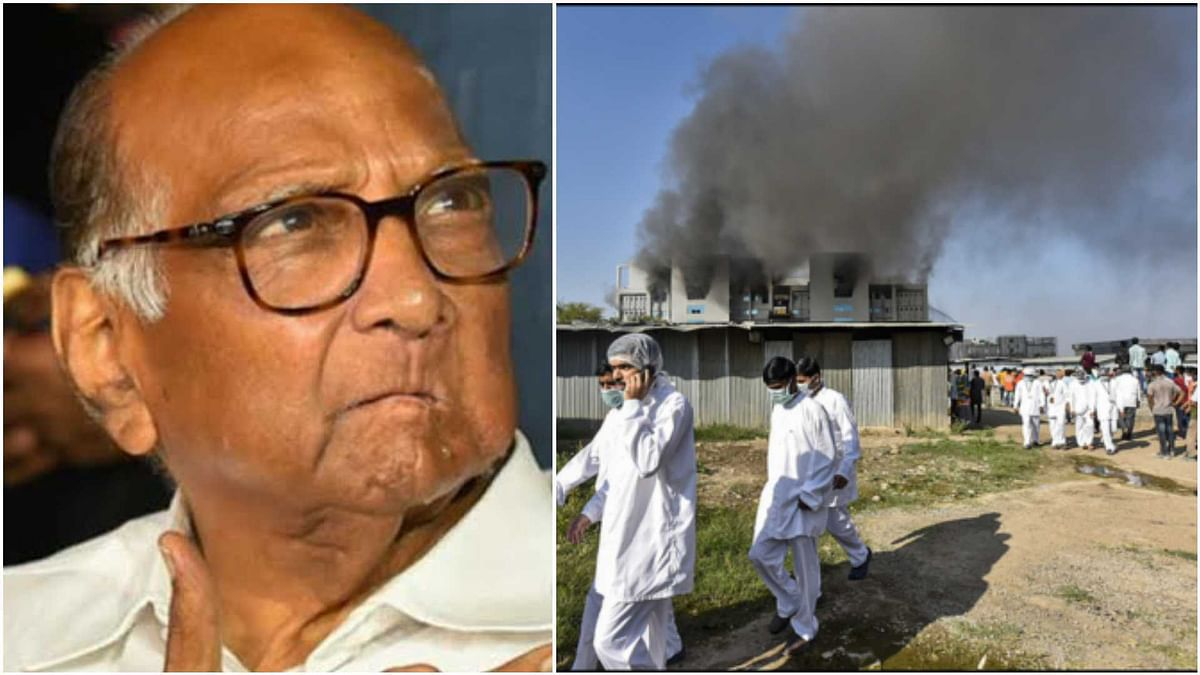 'Fire at Pune's Serum Institute of India an accident': Sharad Pawar