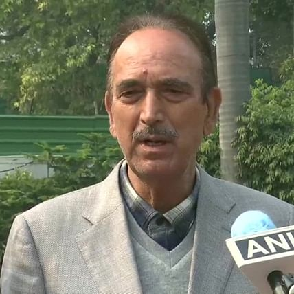 16 Opposition parties to boycott President's address in Parliament: Ghulam Nabi Azad