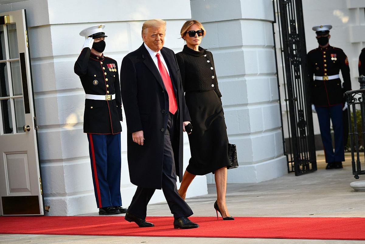 Melania Trump exits The White House carrying a Rs 65 Lakh croc Hermès Birkin bag