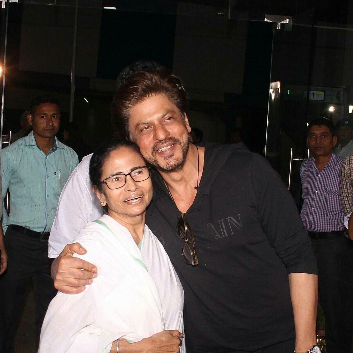 'Mamata di, I miss you and miss hugging you': Shah Rukh at virtual inauguration of Kolkata International Film Festival