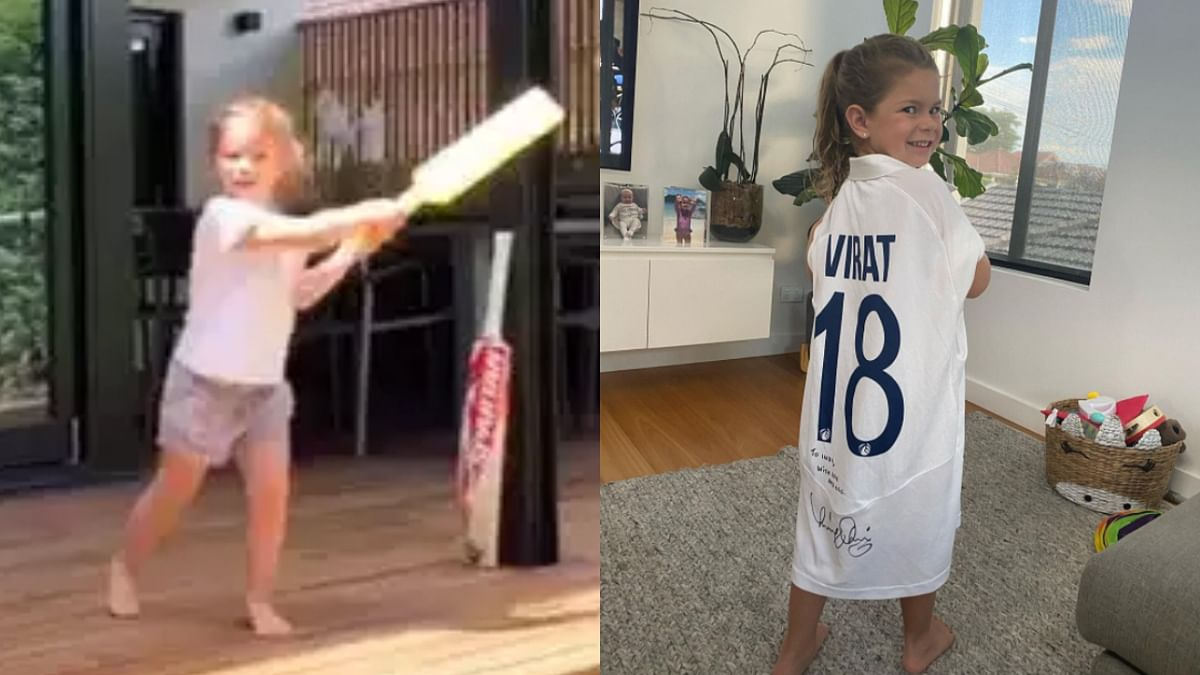 From asserting 'I'm Virat Kohli' to sporting his jersey: Sunrisers Hyderabad's adorable tribute to David Warner's daughter