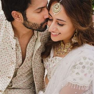 Varun Dhawan drops fresh pictures with wife Natasha Dalal from their Mehendi ceremony