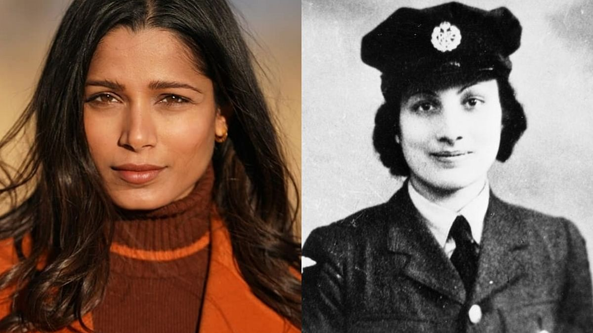 Freida Pinto to star as British secret agent Noor Inayat Khan in TV series 'Spy Princess'