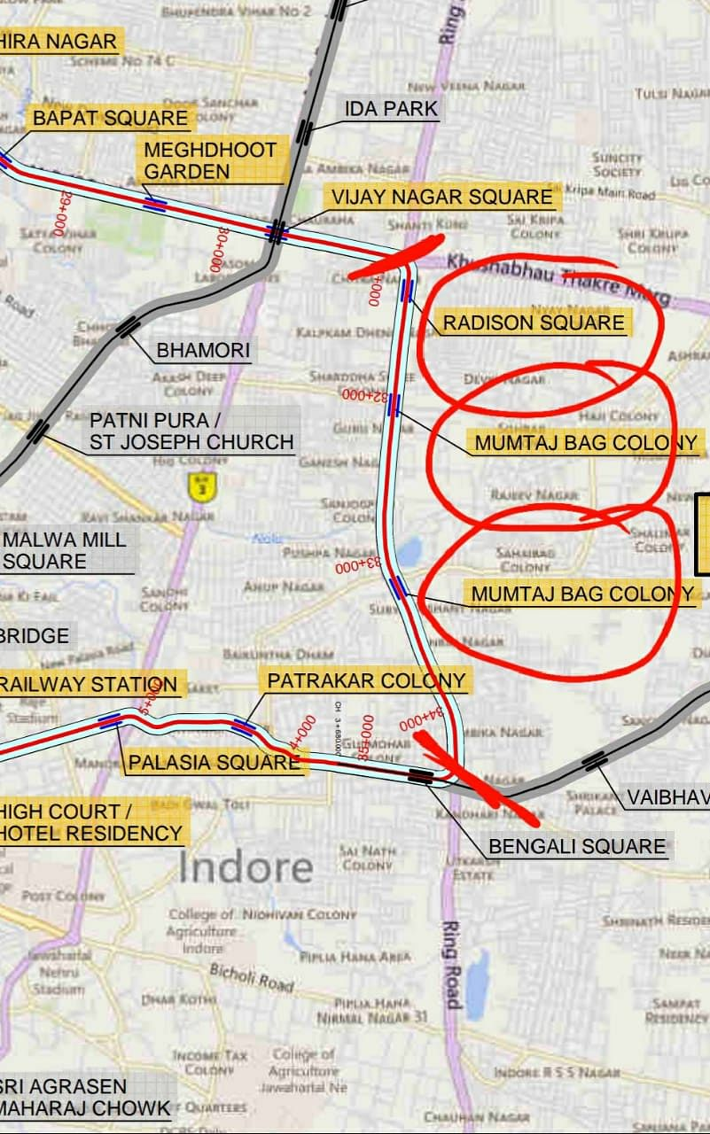 Indore: Proposed flyovers on Ring Road will impede metro rail construction: Experts