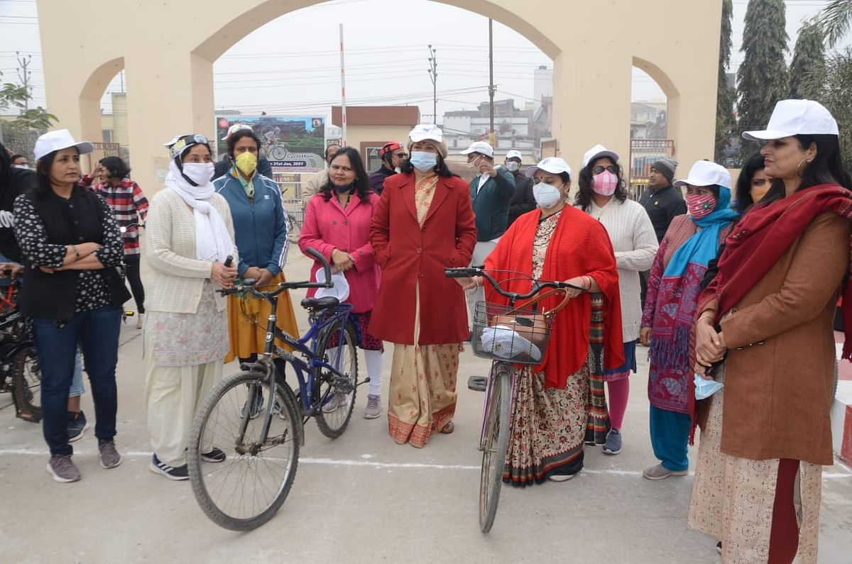 East Central Railway organises of Fit India Cyclothon at Patna