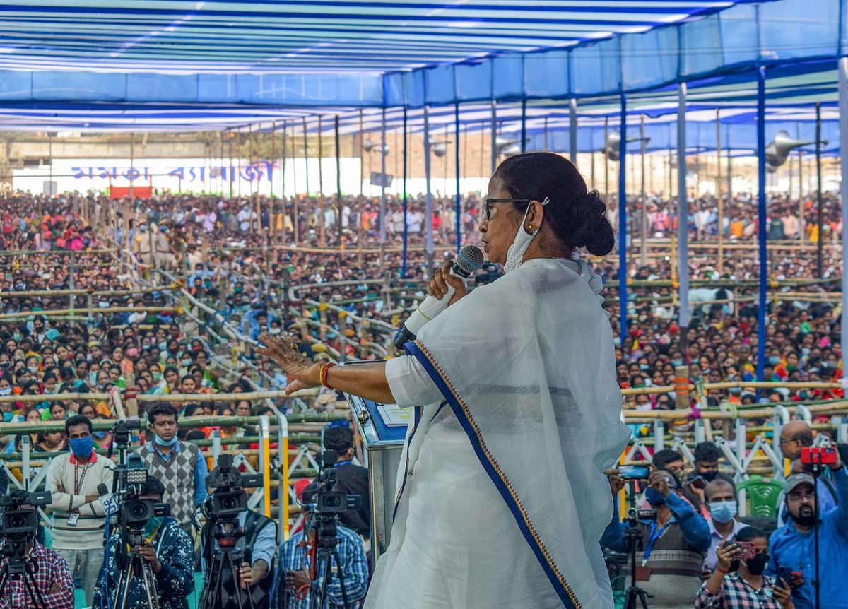 'BJP is like venomous snake': Mamata Banerjee urges people to reject the saffron camp in West Bengal Elections