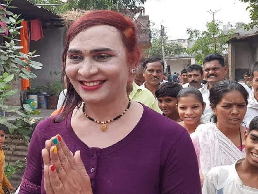 Maharashtra Gram Panchayat Election: VBA's transgender candidate Anjali Patil wins big in Jalgaon