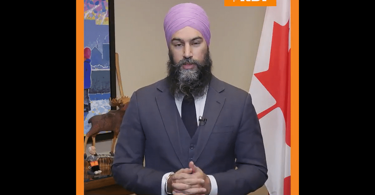'Indian govt's violent response to peaceful protest': Canadian lawmaker calls on PM Trudeau to condemn situation