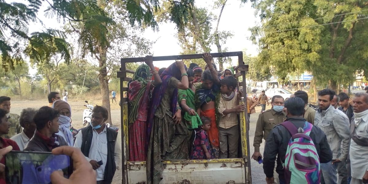Madhya Pradesh: ASP Rajesh Kumar Yadav visits Kalsia village, assures villagers to swipe off Kanjar gangs