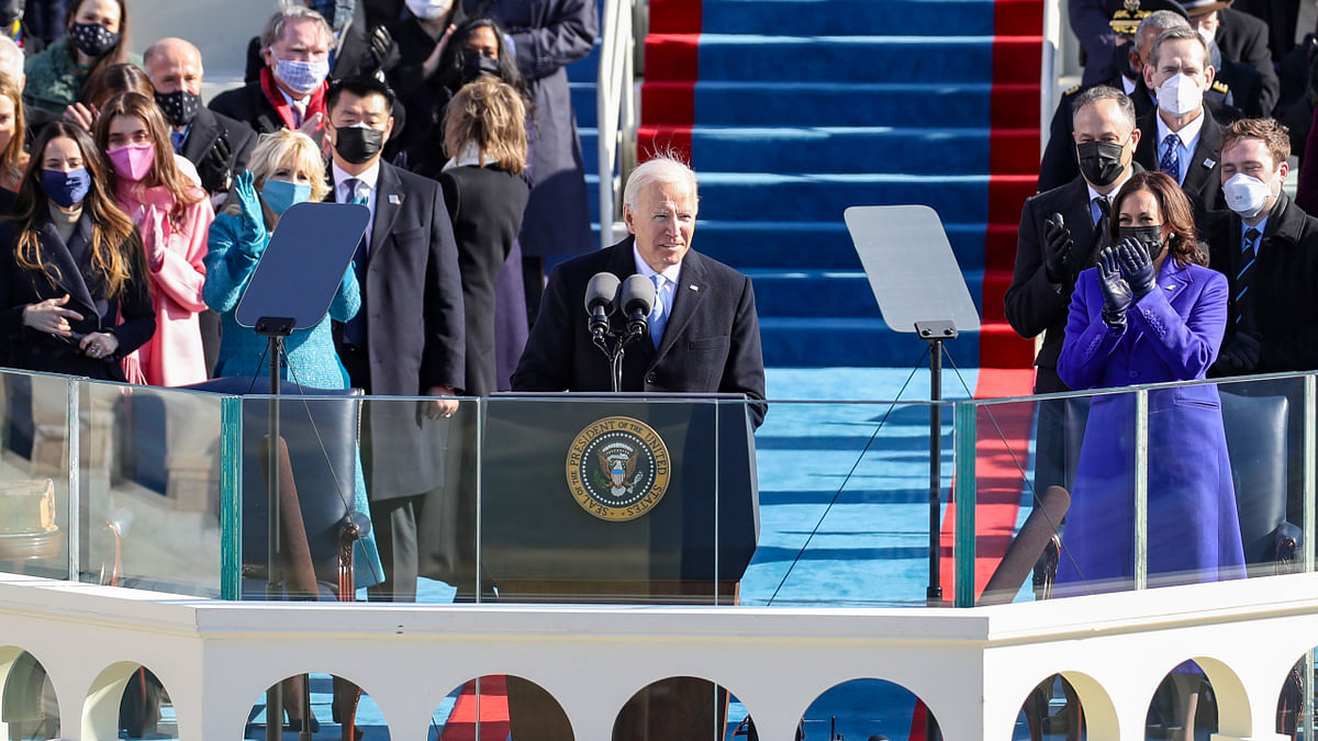 Joe Biden takes oath as 46th President of the United States of America; Kamala Harris sworn in as Vice President