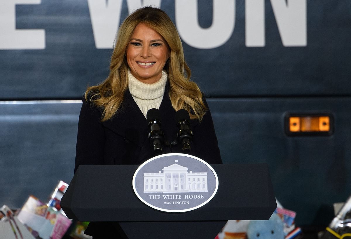 First Lady Melania Trump bids adieu to the nation with her farewell speech