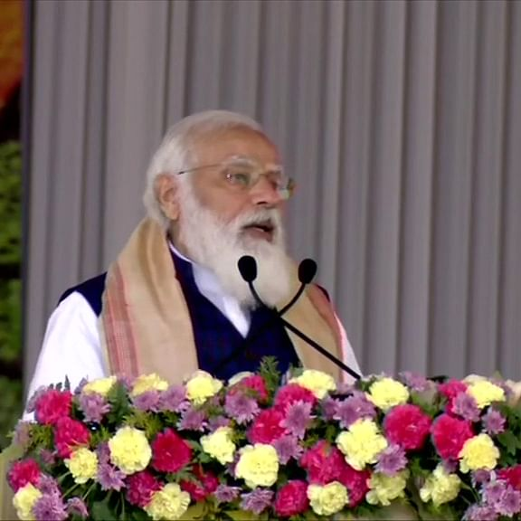 Rapid development of Assam, northeast region integral part of self-reliant India: PM Modi