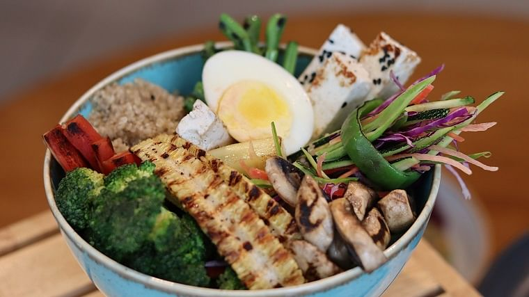A healthy protein bowl