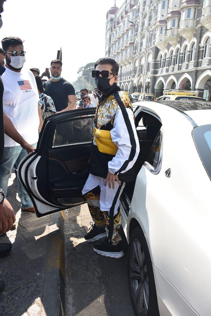 Karan Johar at Gateway of India