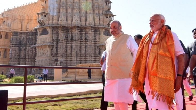 Gujarat: PM Modi appointed chairman of Somnath temple trust