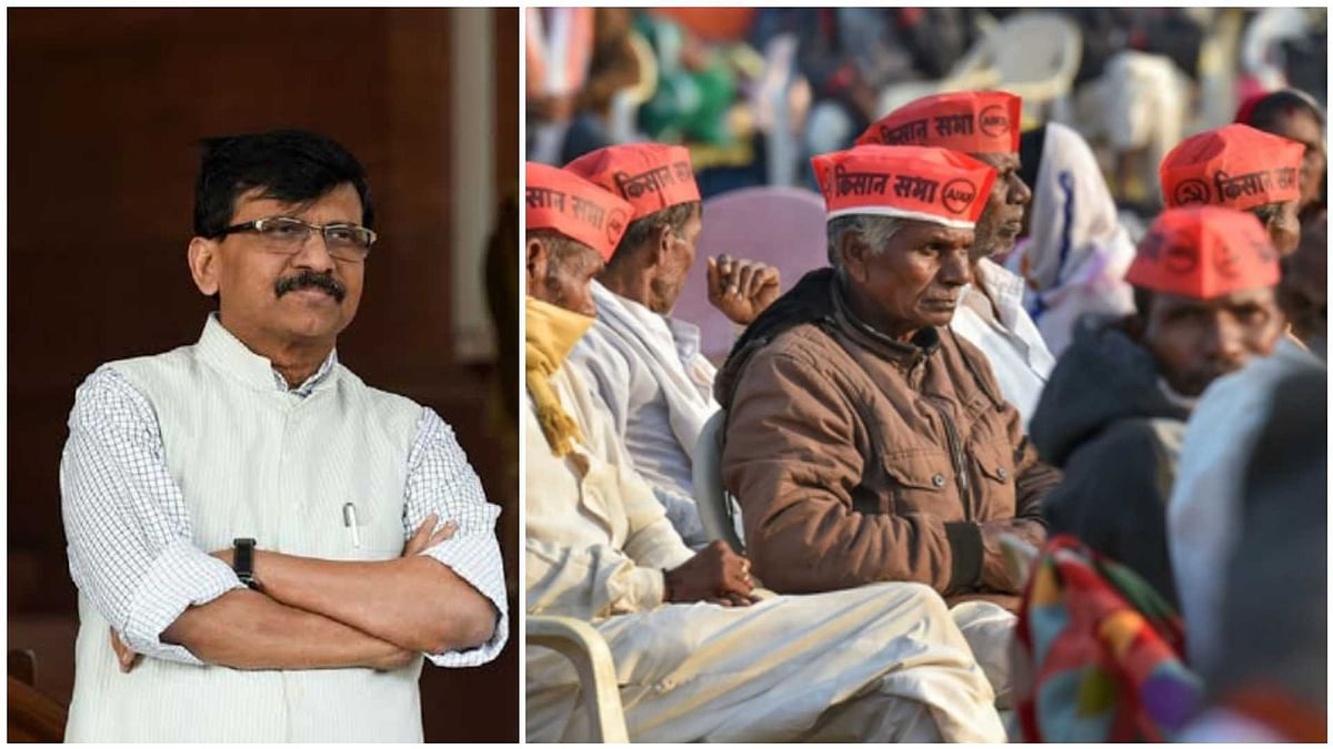 Farmers' rally in Mumbai: Sanjay Raut cautions protesters against COVID-19