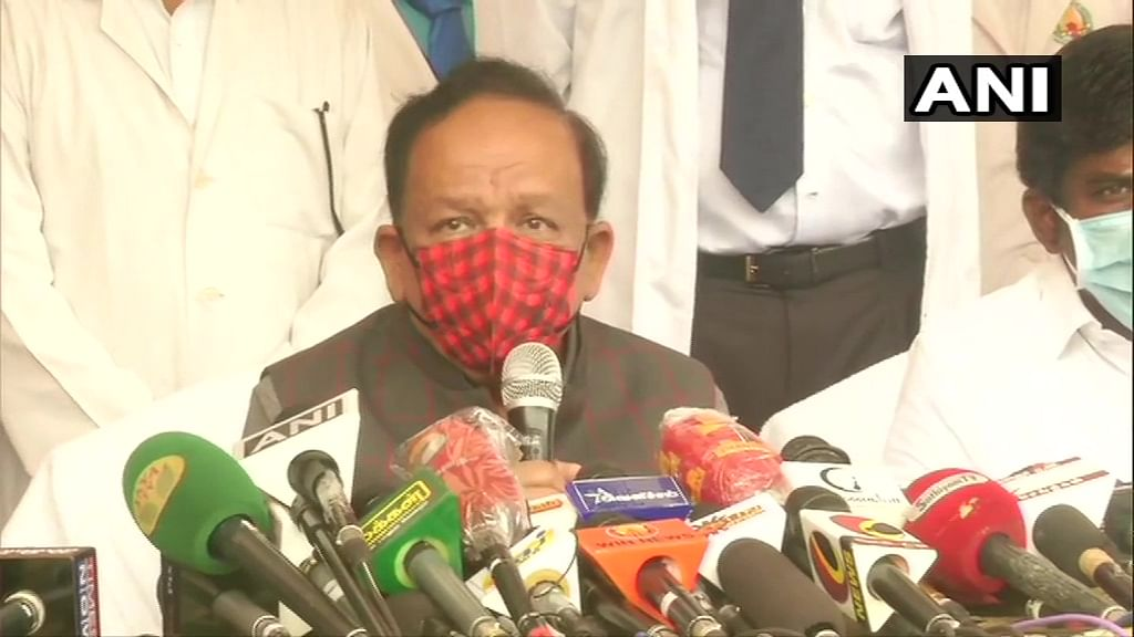 'COVID-19 vaccines for Indians in next few days': Union Health Minister Harsh Vardhan