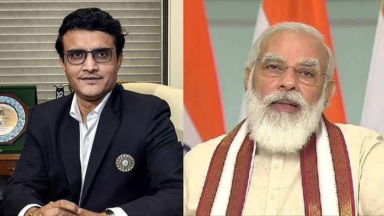 PM Modi speaks to Sourav Ganguly, wishes him speedy recovery