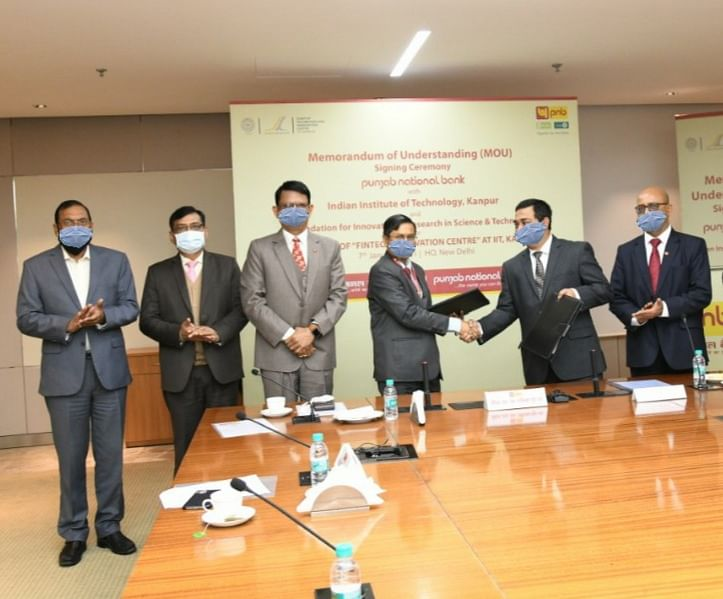 Punjab National Bank collaborates with IIT Kanpur & FIRST to set up Fintech Innovation Centre