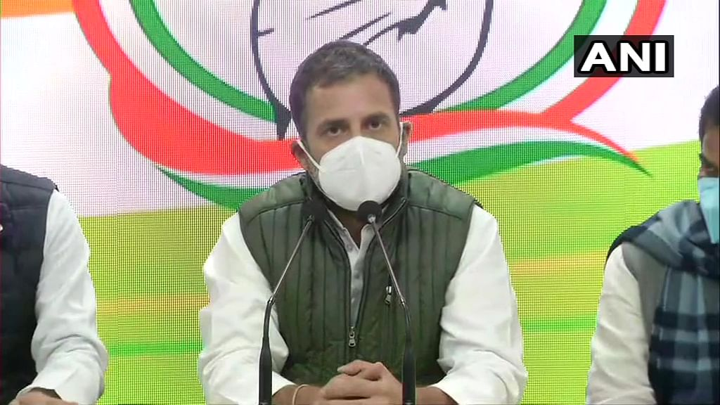 Government is trying to discredit farmers, says Rahul Gandhi