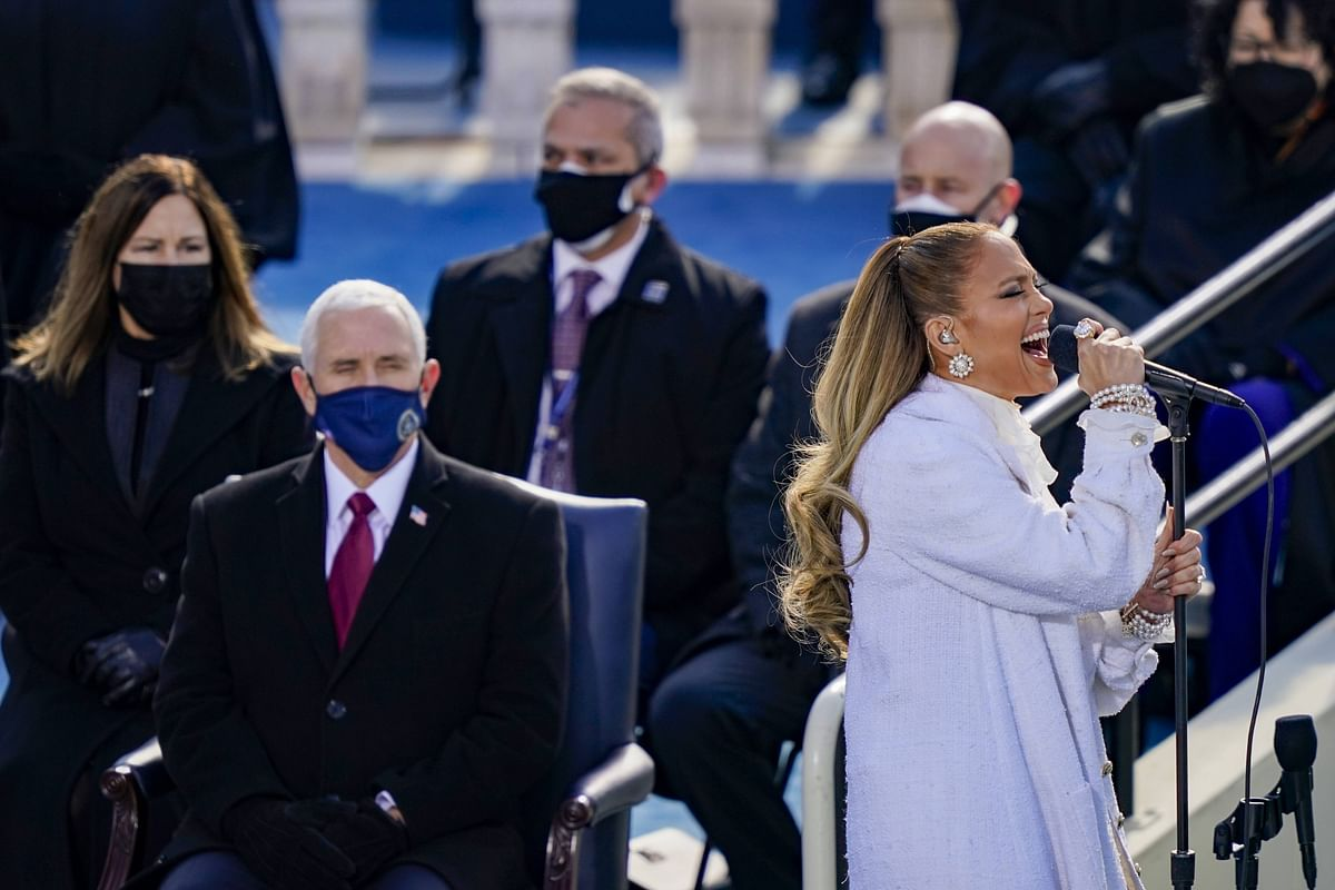 Watch: Jennifer Lopez's power-packed performance at Joe Biden's inauguration