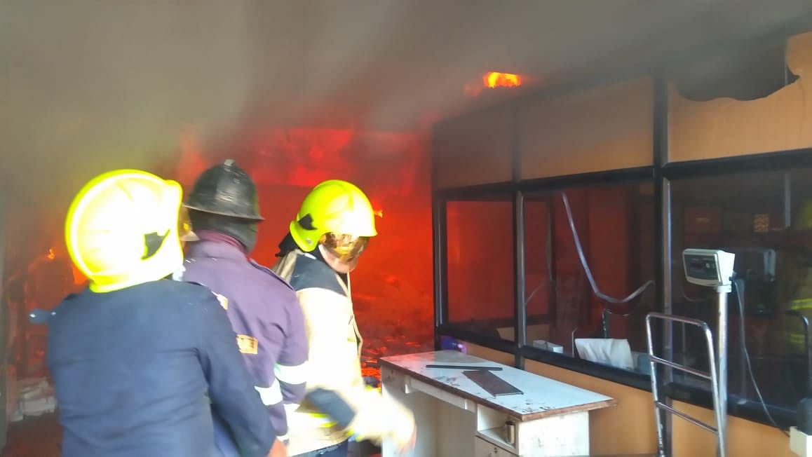 Thane: Fire breaks out at Biosense company in Wagle Estate