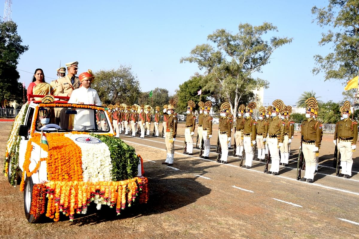 Madhya Pradesh: District Home Guard's Platoon No 6 bags first prize in parade