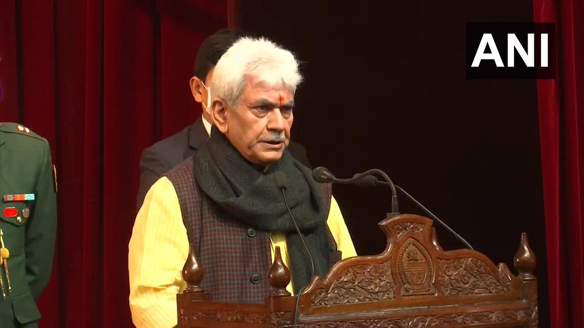 Jammu and Kashmir: Lt Governor Manoj Sinha announces Rs 28,400 crores industrial development scheme for Union Territory