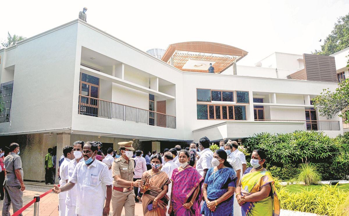 Former Tamil Nadu CM Jayalalithaa's residence now a memorial